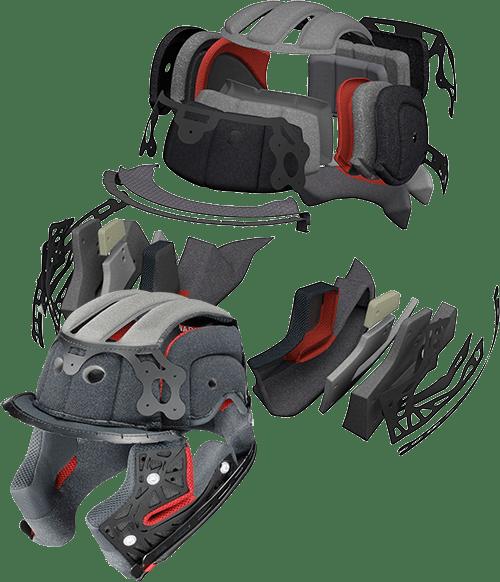 Shoei RF 1200 helmet inner liner