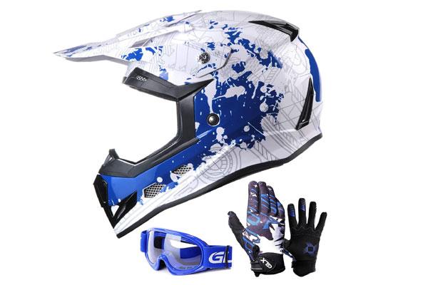 GLX Unisex-Child GX623 DOT Kids Youth Helmet