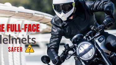 Are Full-Face Helmets Safer