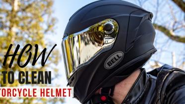 How to clean Motorcycle Helmet