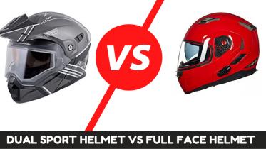 Dual Sport Helmet Vs Full Face Helmet