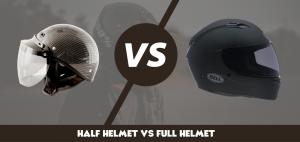 Half Helmet Vs Full Helmet